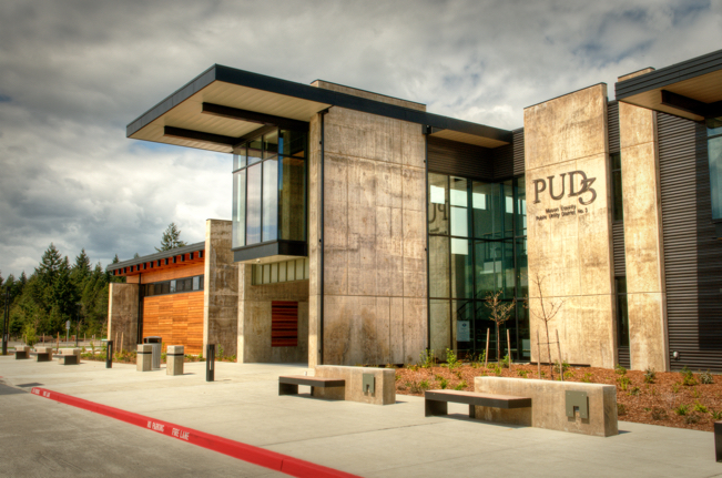 PUD3 Office Building at Johns Prairie Operations Center